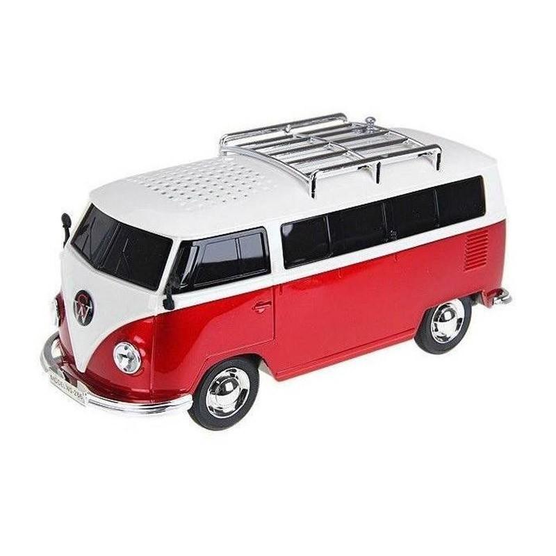 Φορητό Ηχείο USB/SD, Ραδιόφωνο VW VAN WS-266-Κόκκινο
