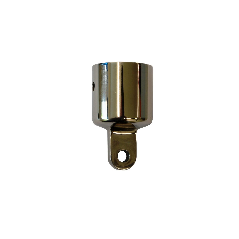 11.22 - Βάση Inox Για Τοποθέτηση Σε Ρέλι 32mm