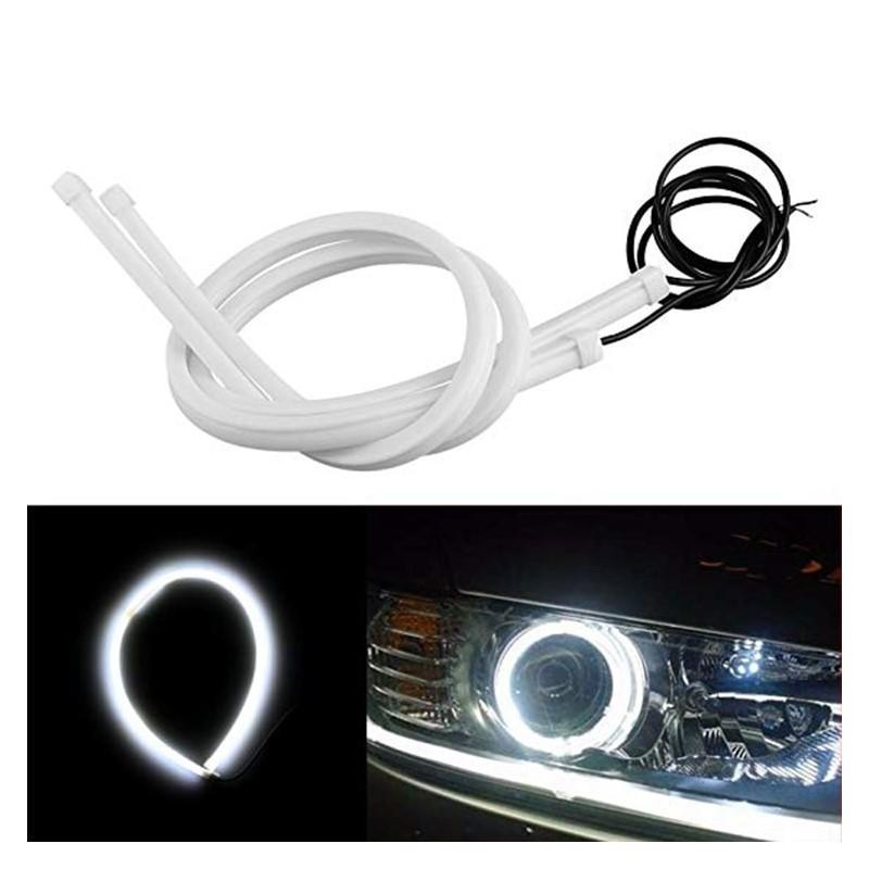 14.9 - Εύκαμπτος Σωλήνας LED για Φανάρι Αυτοκινήτου – Φώτα Ημέρας 6000Κ 60cm