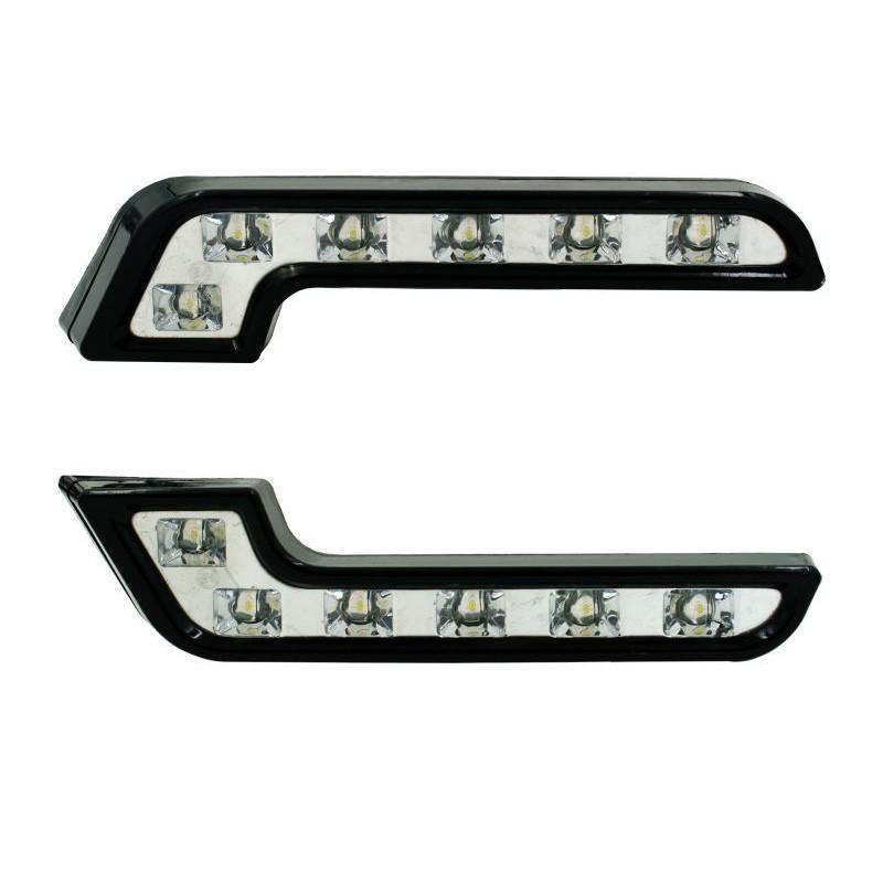 13.9 - Φώτα Ημέρας Αυτοκινήτου LED 6x1 Σετ 2 Τεμάχια