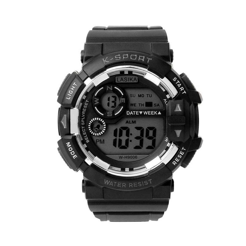 11.9 - Αδιάβροχο Ρολόι με Ψηφιακό Χρονογράφο S-Sport 9014