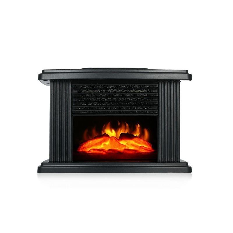 24.9 - Mini Τζάκι Αερόθερμο με Εφέ Φλόγας–Flame Heater 1000W