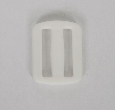 8 - Αυξομειωτήρας Πλαστικός Χρώματος Μαύρου Για Ιμάντα 25mm - Σετ x20