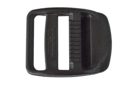 7.8 - Αυξομειωτήρας Πλαστικός Μαύρος 30mm - Σετ Των 20 Τεμαχίων
