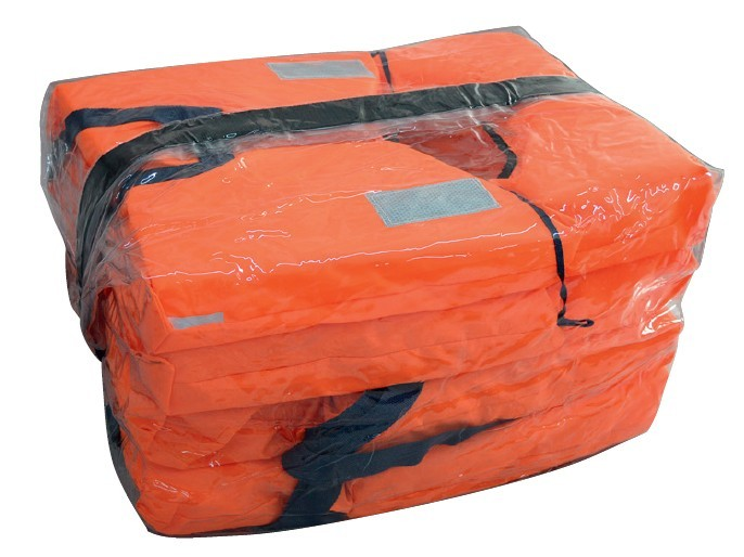 14.94 - Αδιάβροχη Αεροστεγής Τσάντα Αποθήκευσης Σωστικού Εξοπλισμού για 4 Σωσίβια (δεν περιλαμβάνονται τα σωσίβια)