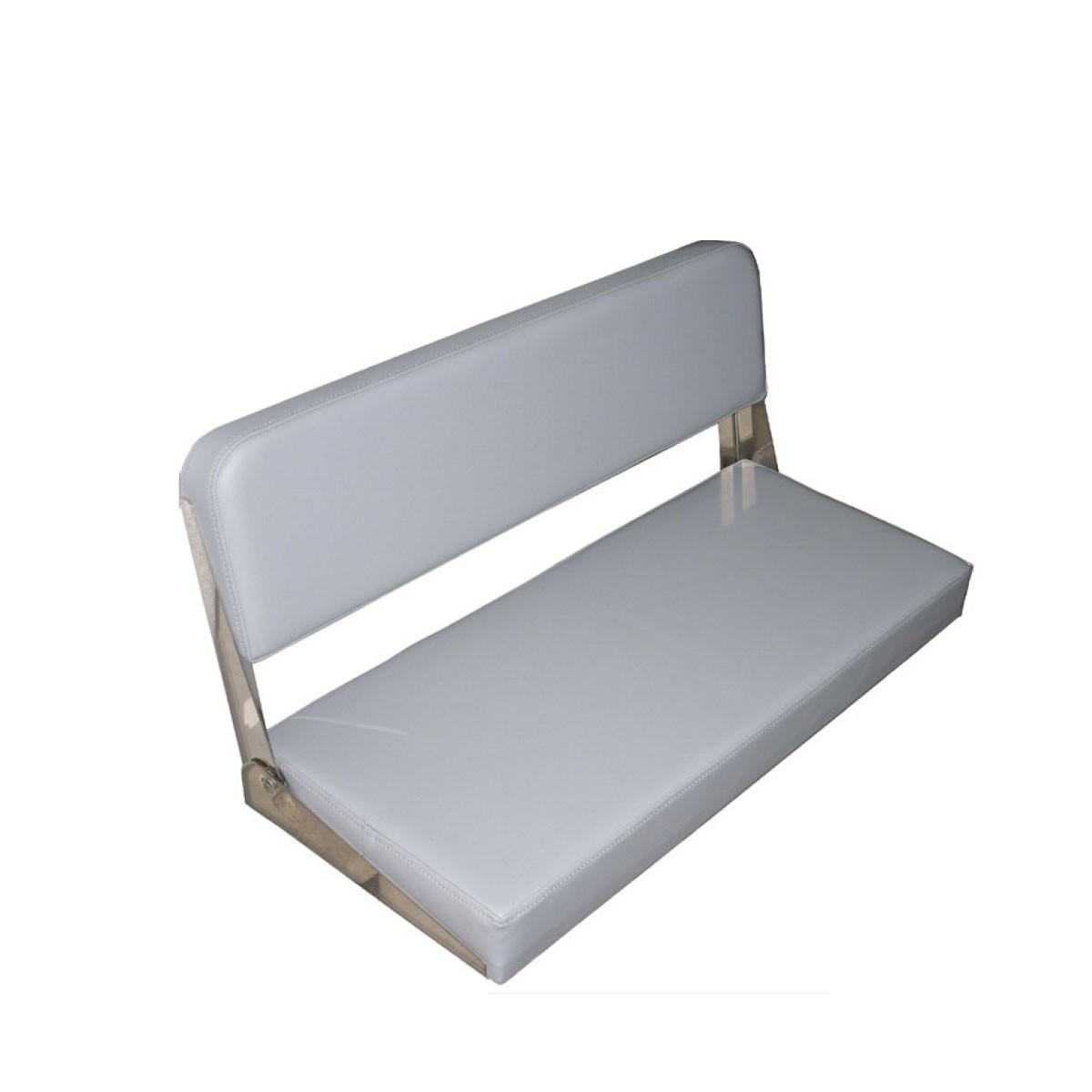 220.93 - Κάθισμα-Μαξιλάρι Αναδιπλούμενο Για Κάθισμα Σκάφους Χρώματος Γκρι L80cm x W35cm x H48 cm