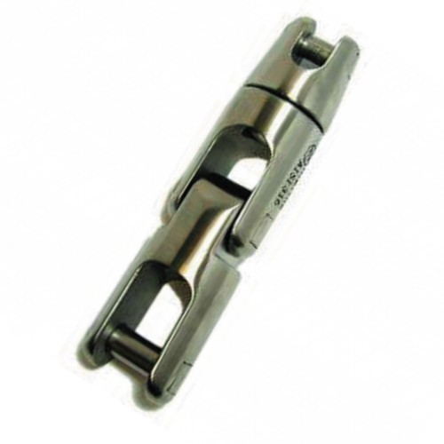 22.29 - Στριφτάρι Σπαστό Περιστρεφόμενο Inox 316 Άγκυρας Για Αλυσίδα 8mm