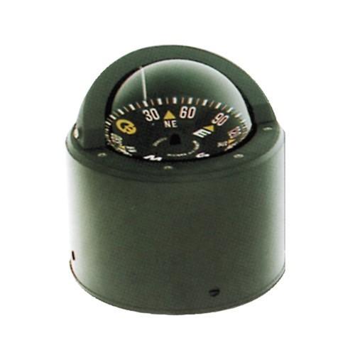 158.14 - Πυξίδα RIVIERA ΒΖ3 Χρώμα Μαύρο - Με Βάση Επικαθήμενης Τοποθέτησης