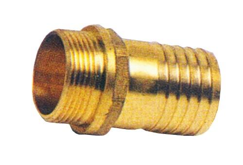 12.66 - Ρακόρ Ορειχάλκινο 25.5mm - Σετ Των 2 Τεμαχίων