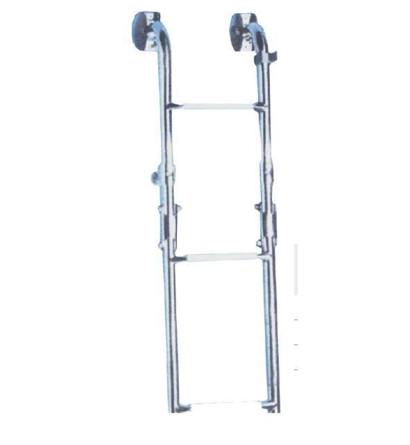 64.43 - Σκάλα Inox Αναδιπλούμενη Καθρέπτου