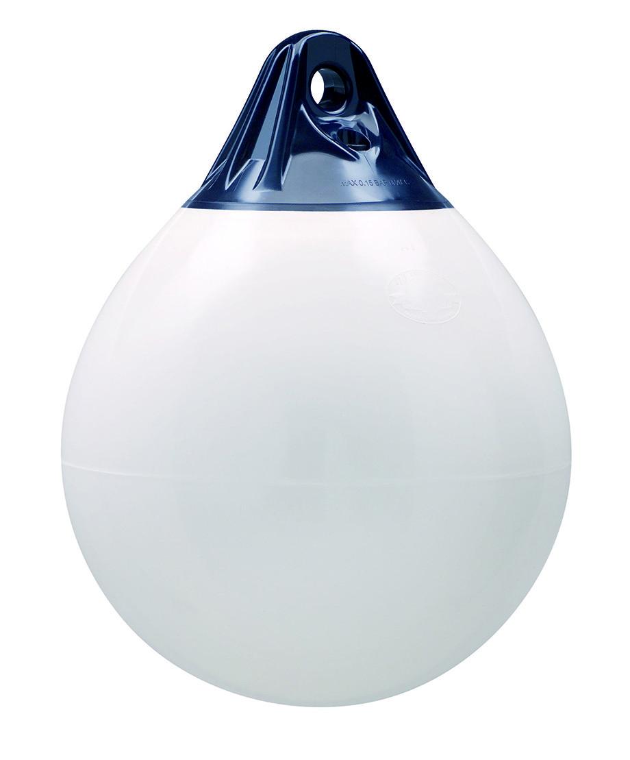 246.86 - Μπαλόνι Στρογγυλό Βαρέως Τύπου POLYFORM 85x112cm Λευκό