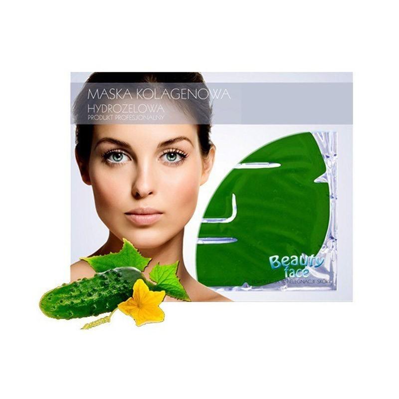 9.9 - Μάσκα Προσώπου για Αναζωογόνηση και Λεύκανση με Κολλαγόνο και Εκχύλισμα Αγγουριού Beauty Face