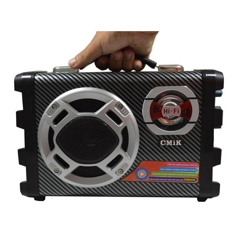 Φορητό Ηχοσύστημα Mp3 Player με Karaoke X-BASS MK-10