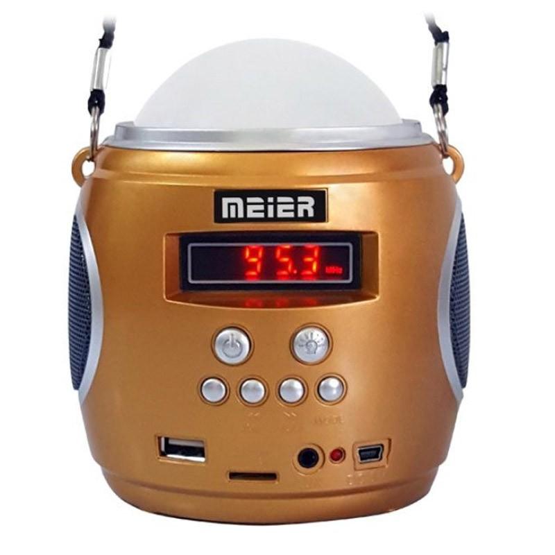 Φορητό Ραδιόφωνο και MP3 Player με Φακό LED