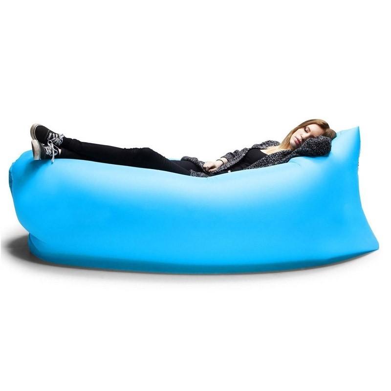 Φουσκωτός Καναπές - Ξαπλώστρα Χρώματος Μπλε Air Sofa