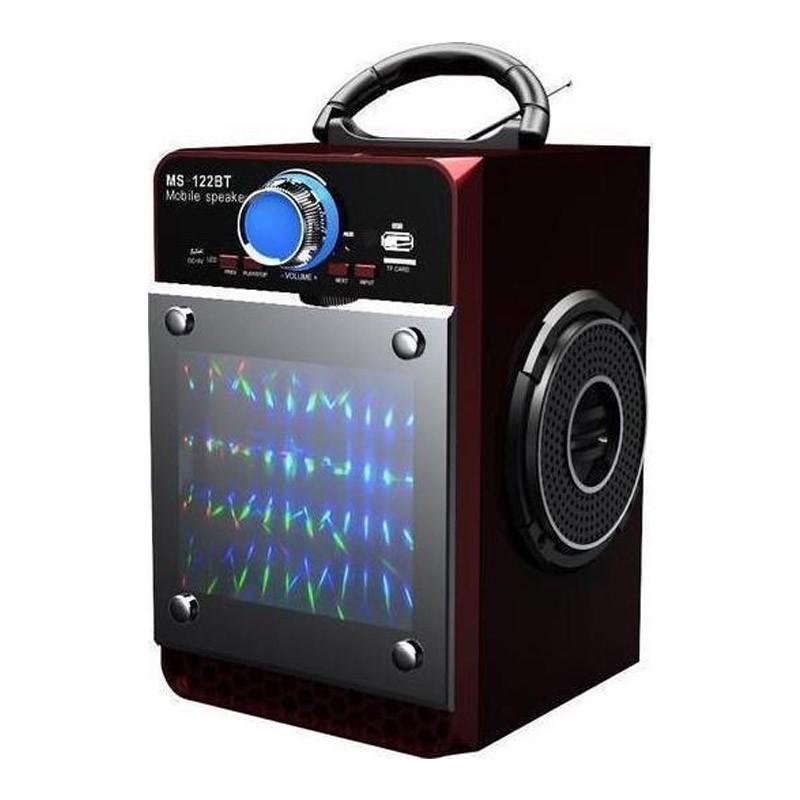 Μίνι Ηχοσύστημα Bluetooth Ηχείο με FM Radio και Τηλεχειριστήριο