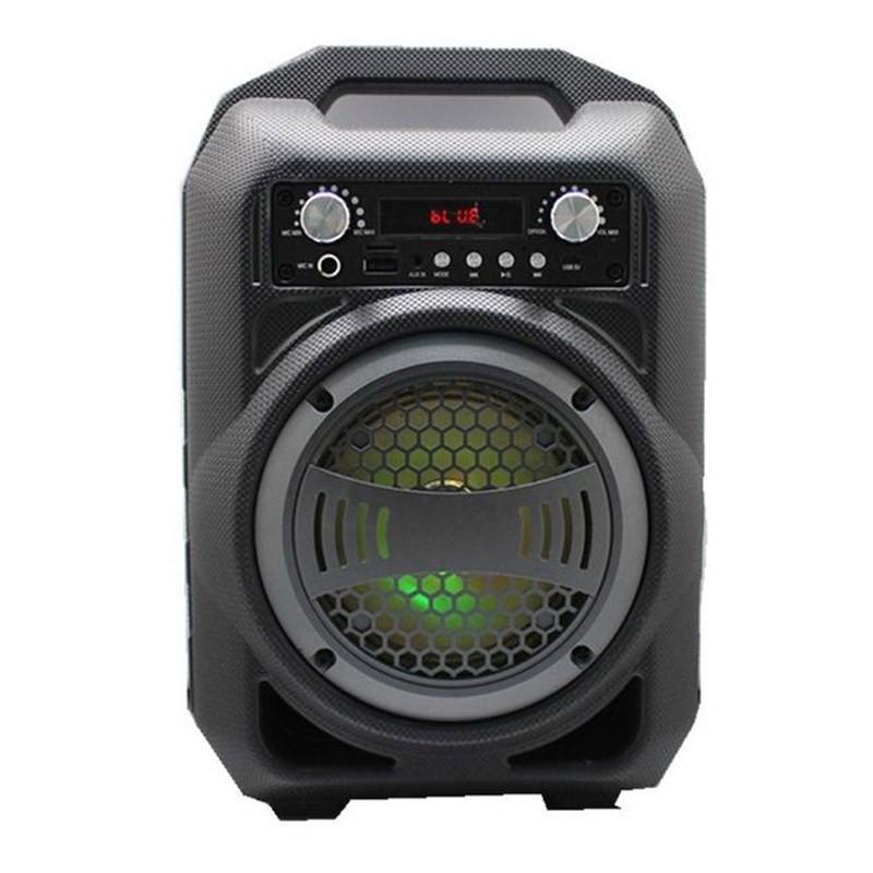 Μίνι Ηχοσύστημα Bluetooth Ηχείο με Φωτισμό LED BS12