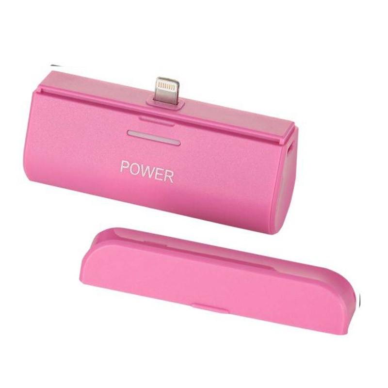 Mini Power Bank για Συσκευές iOS Χρώματος Ροζ