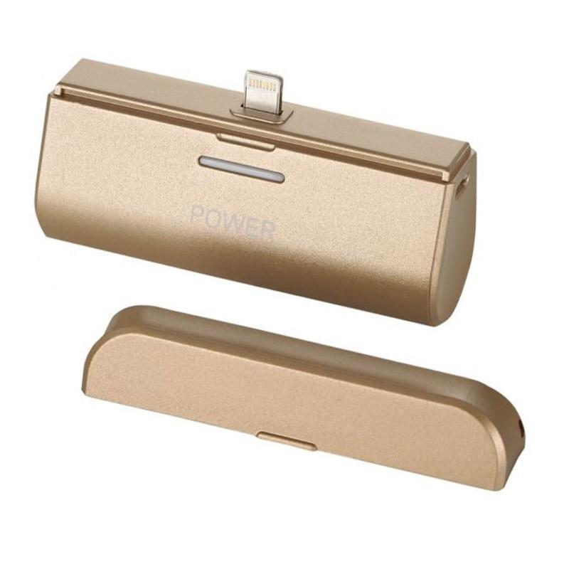 Mini Power Bank για Συσκευές iOS Χρώματος Χρυσό