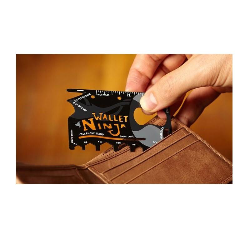 Πολυεργαλείο Πορτοφολιού Ninja Wallet