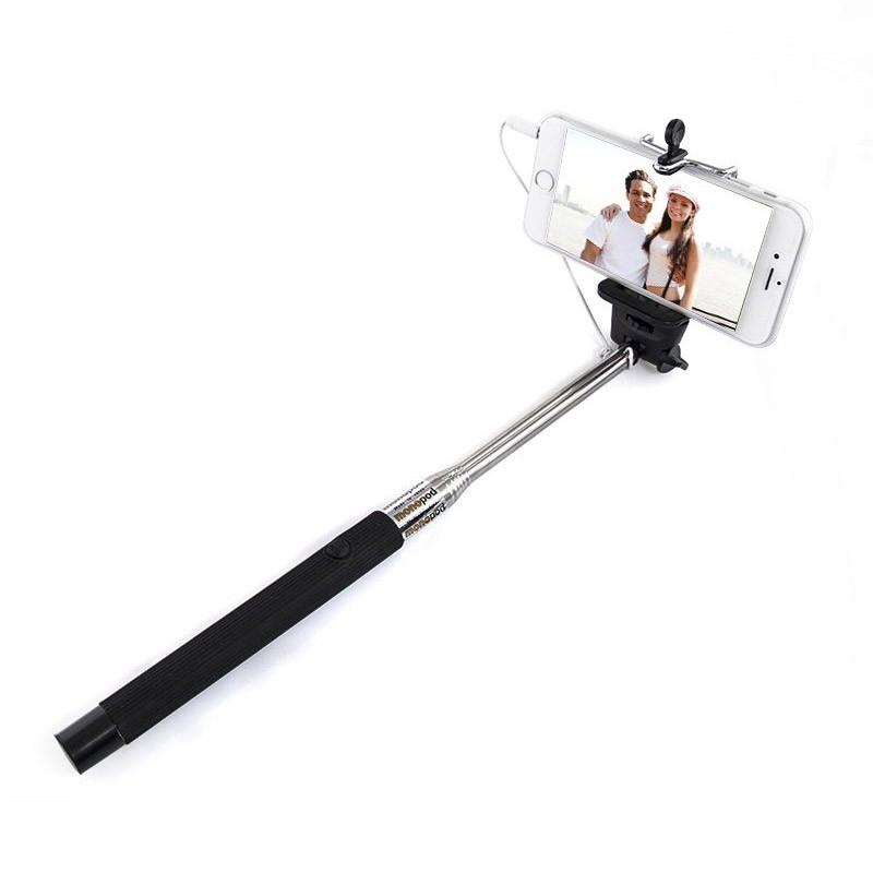 Πτυσσόμενος Μονόποδας με Καλώδιο για Selfies