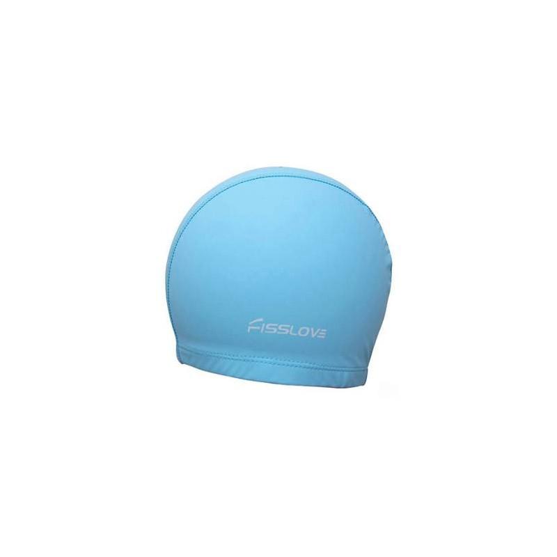 Σκουφάκι Κολύμβησης - Swim Cap FissLove Χρώματος Γαλάζιο