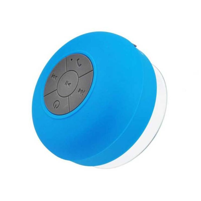 Αδιάβροχο Bluetooth Ηχείο με βεντούζα Χρώματος Μπλε