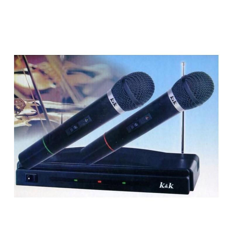 24.9 - Ασύρματο Σύστημα 2 Μικροφώνων ΑΤ-306
