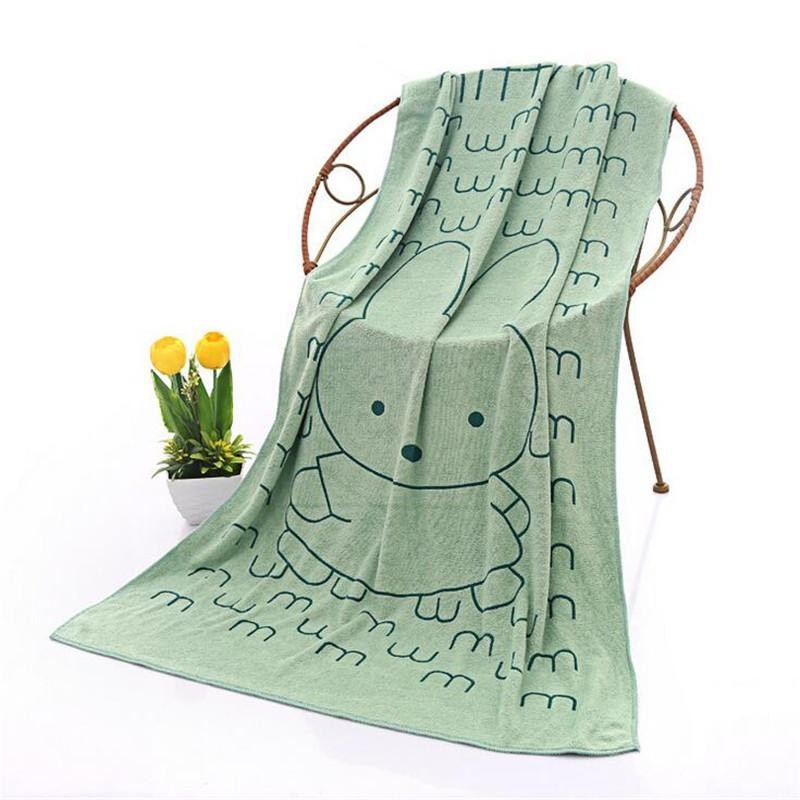 9.9 - Βελουτέ Πετσέτα Μπάνιου - Θαλάσσης Χρώματος Πράσινο