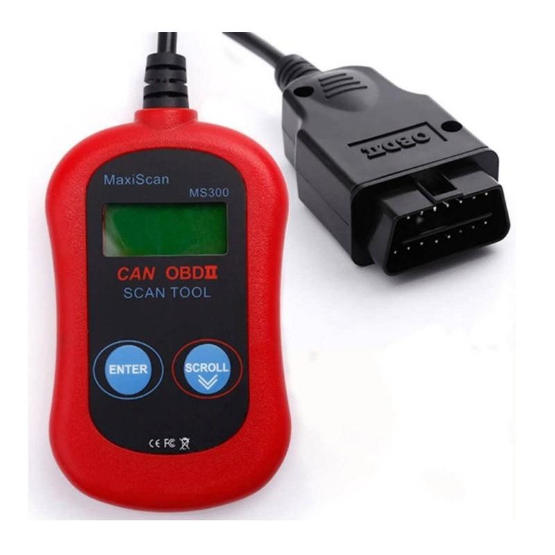 28.9 - Διαγνωστικό Αυτοκινήτου OBD II MS300 Maxi Scan