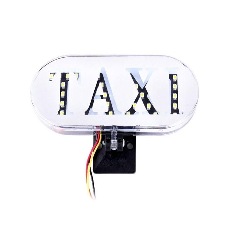 Διακοσμητικό Φωτιστικό Αυτοκινήτου Led Taxi