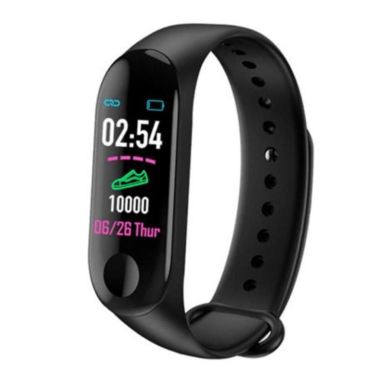 19.9 - Έξυπνο Ρολόι με Καταγραφή Βημάτων Health Bracelet M3