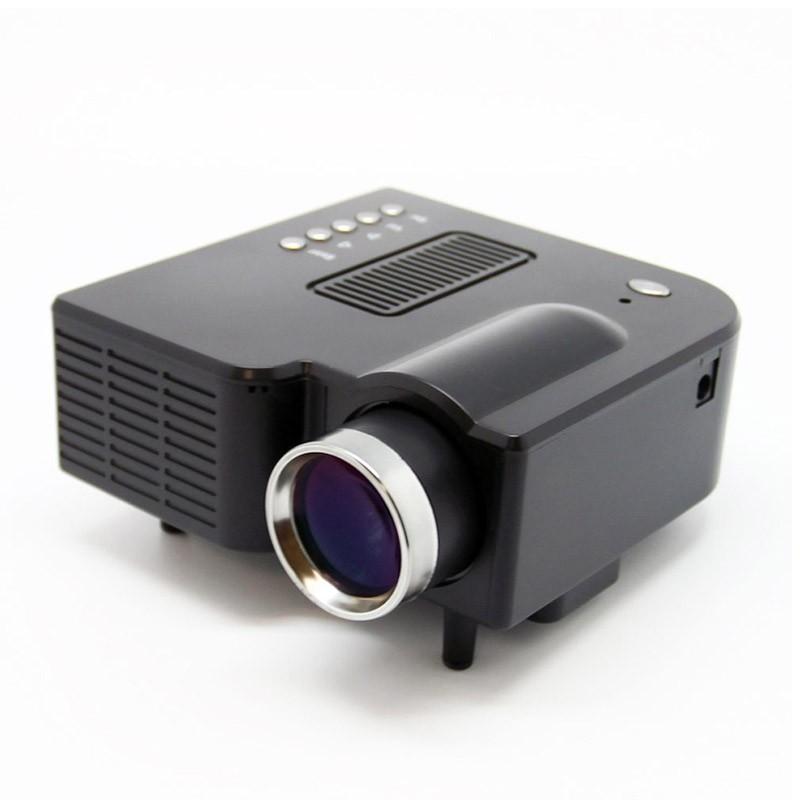 Φορητός Προτζέκτορας Led με Θύρες USB & SD