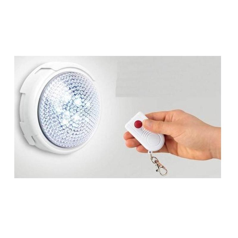 Φως LED με Μπαταρία και Ασύρματο Κοντρόλ