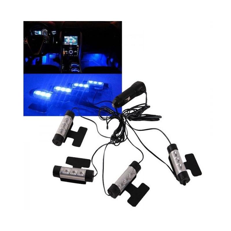 Φωτισμός Καμπίνας Αυτοκινήτου με Led 12V