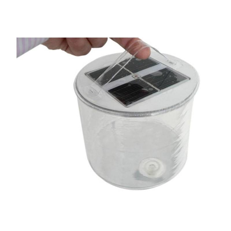 Φουσκωτό Ηλιακό Φανάρι με Led