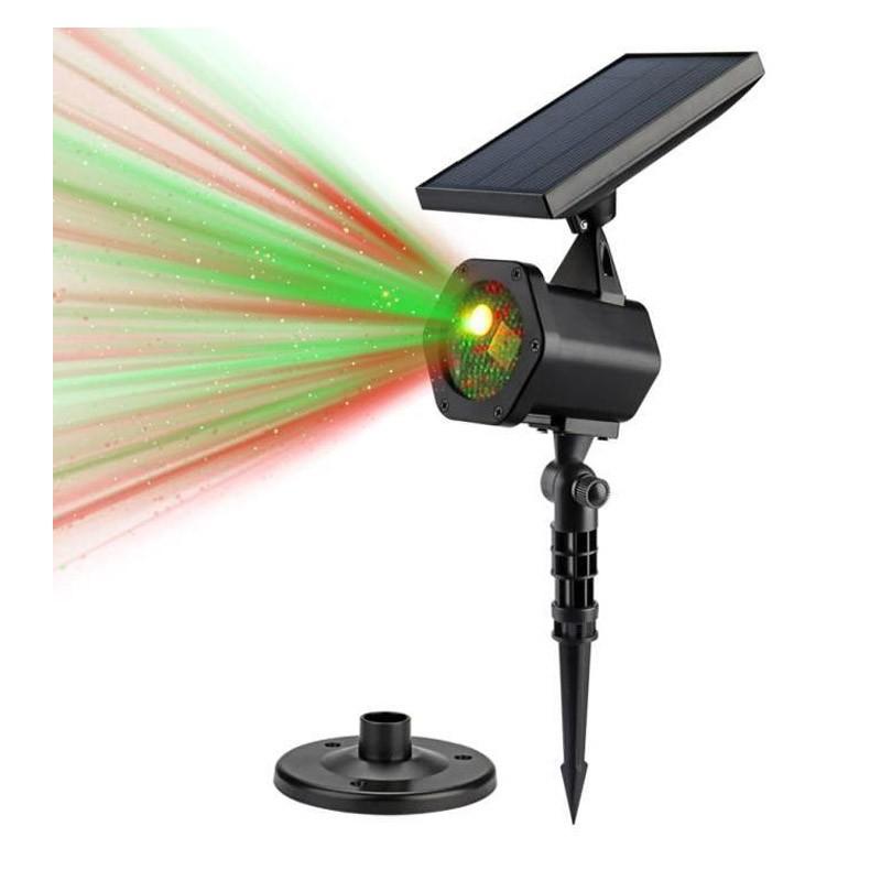 Ηλιακός Προβολέας Laser Διακοσμητικού Φωτισμού - Solar Star Laser SP25W
