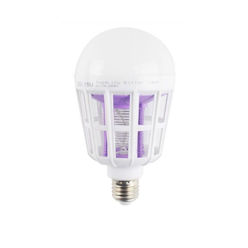 Λάμπα LED και Ηλεκτρική Εντομοπαγίδα 2 σε 1 15 W