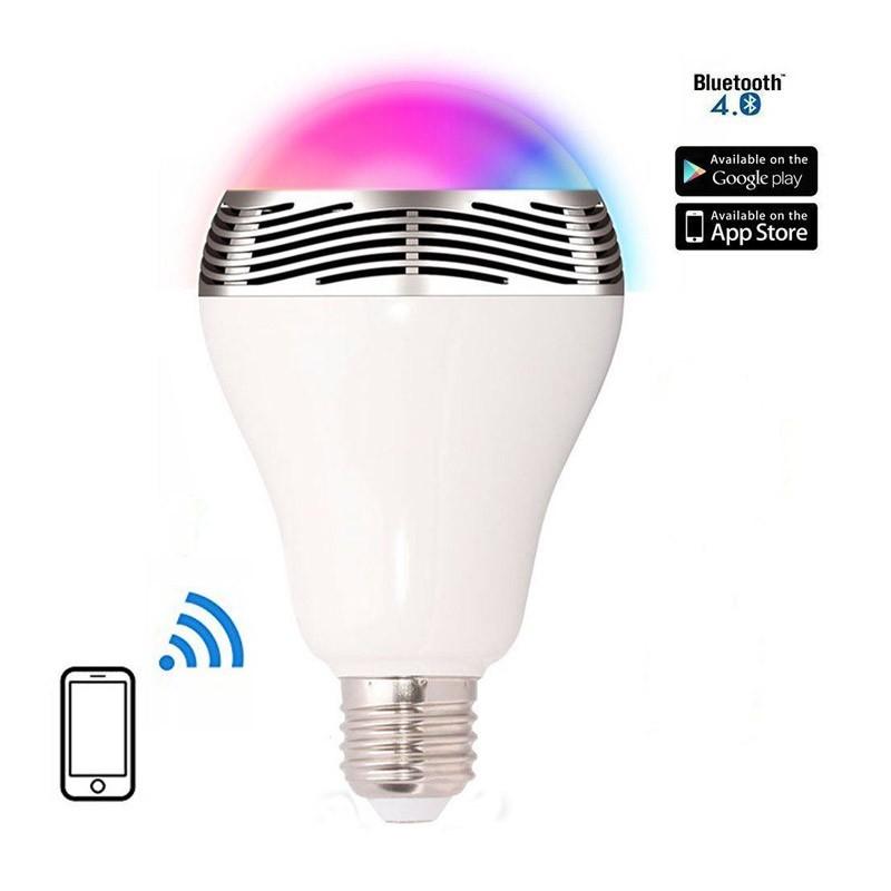 Λάμπα LED 6W & Ηχείο 3W με Σύνδεση Bluetooth