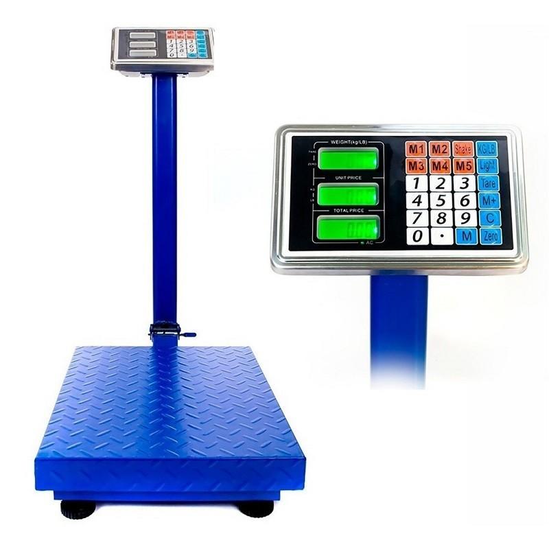 84.9 - Επαγγελματική Ηλεκτρονική Ζυγαριά - Πλάστιγγα 500kg