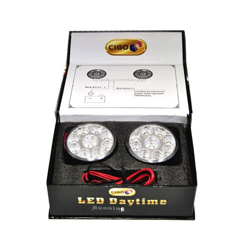 Προβολάκια Ομίχλης LED WJD LED - 109