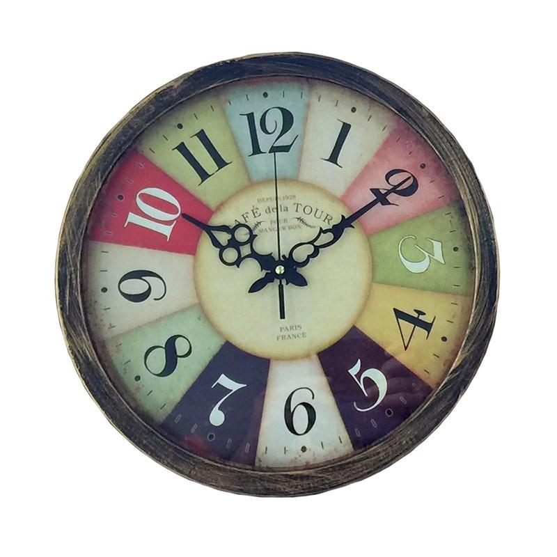 Vintage Ρολόι Τοίχου Café De La Tour