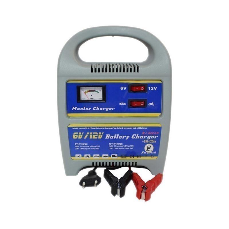 59.9 - Ηλεκτρονικός Φορτιστής Μπαταρίας Αυτοκινήτου & Μηχανής