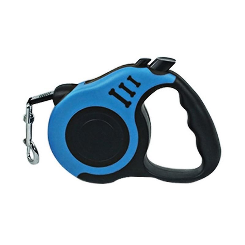 Λουράκι Σκύλων με Επαναφορά Χρώματος Μπλε