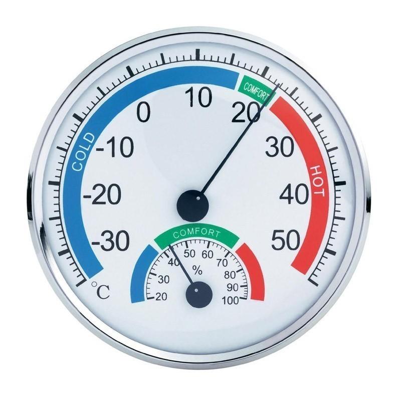 Μεγάλο Υγρόμετρο - Θερμόμετρο Ακριβείας Anymeters