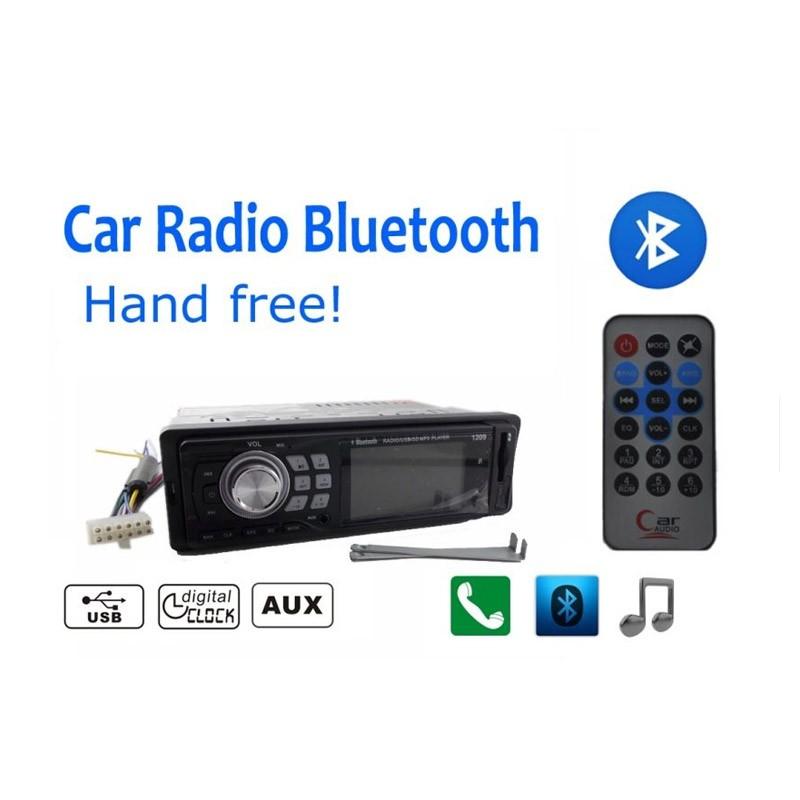 Radio Mp3 Player Αυτοκινήτου με USB /SD/ FM και Bluetooth