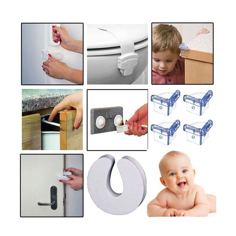 Σετ Προστασίας για Παιδιά στο Σπίτι - 30 τεμάχια