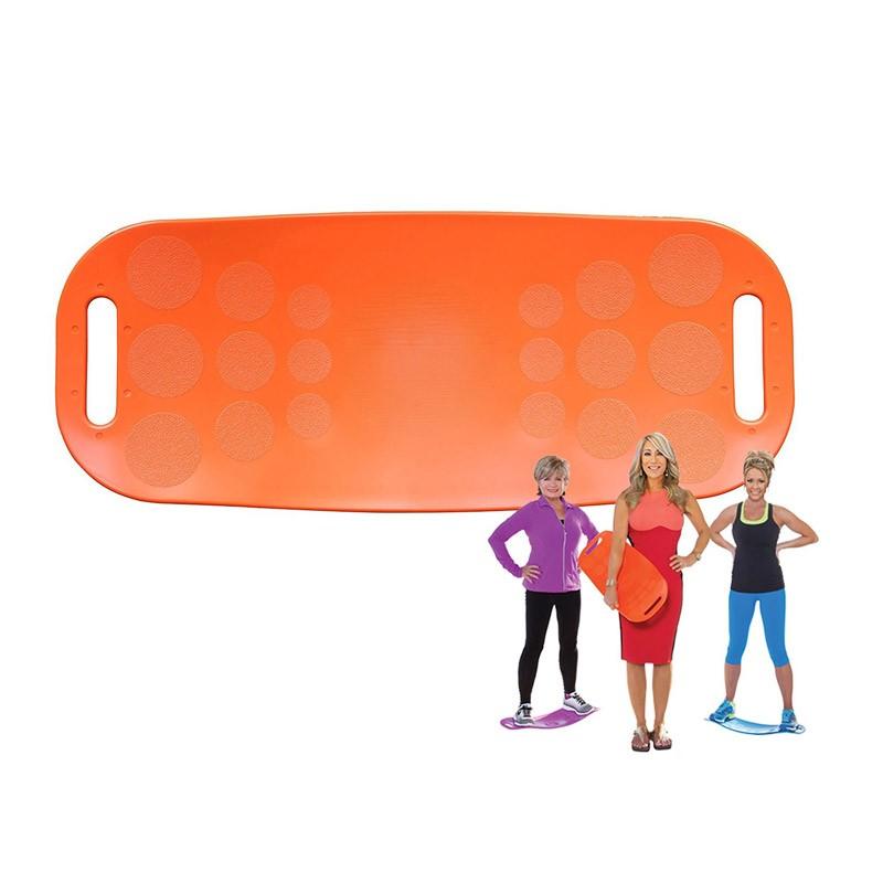 Δίσκος Ισορροπίας Γυμναστικής Simply Fit Χρώματος Πορτοκαλί