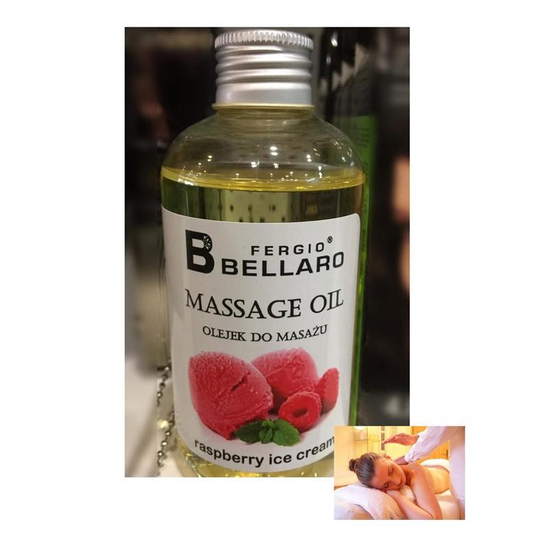 6.9 - Αρωματικό Λάδι Μασάζ με Έλαιο Αργκάν και Βιταμίνη Ε Παγωτό Rasberry