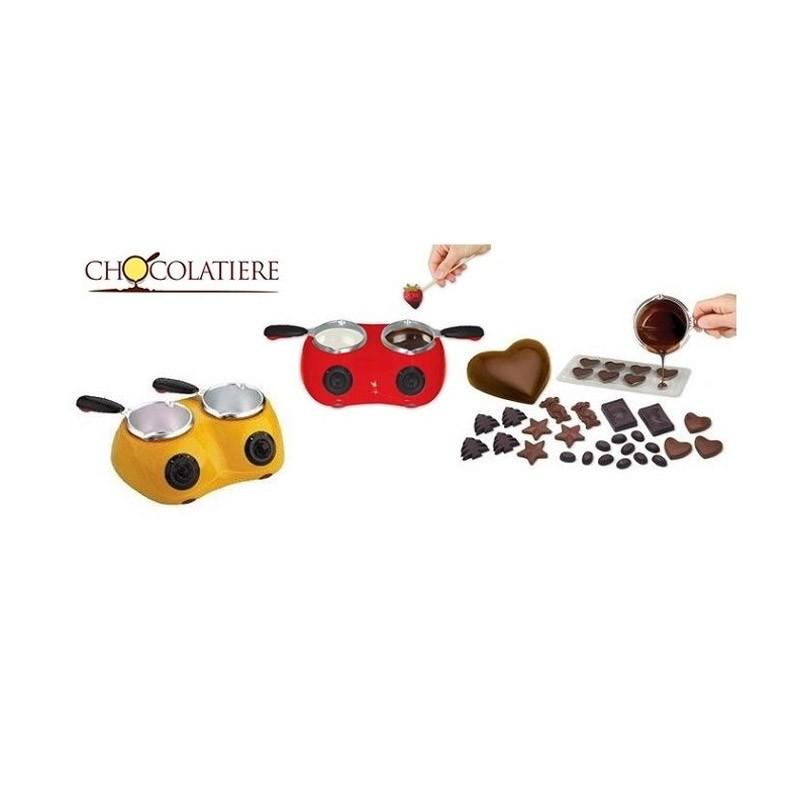Διπλή Συσκευή για Σοκολάτα ή Φοντί-Chocolatiere